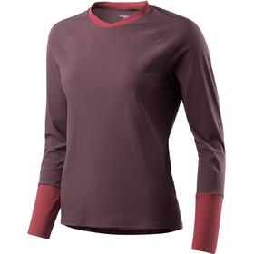 Houdini Liquid Camiseta interior Mujer, back beat brown/pava red